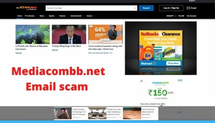 Mediacombb.net Email scam